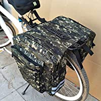 Wamsatto Bolsa de Bicicleta para Asiento Trasero Bolsas para ...