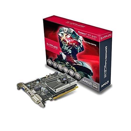Sapphire Radeon R7 240 - Tarjeta gráfica (PCIe, memoria de 2GB ...