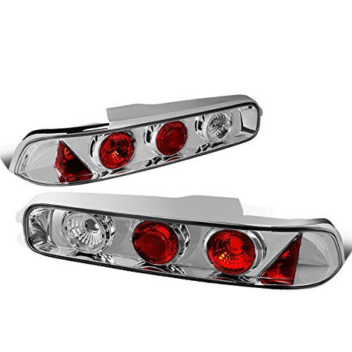 - DNA Motoring CLOSE-TLZ-IN9400-2 Altezza Style Tail Light Chrome [For 94-01 Acura Integra Hatchback]