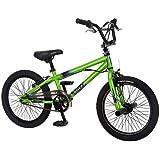 "Mongoose R1834TR Boy's Blitz Bicycle, Green, 18"""