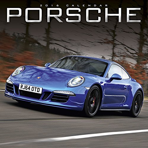 Porsche Wall Calendar 2015 - Super Car Calendar - Porsche 911 - Porsche Carrera GT - Porsche 356