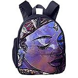 Africa American Mother Art Decor School Book Bag Cute Shoulders Bags Backpack Bag For Girls Boys