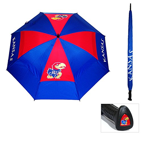(Team Golf University of Kansas Deluxe Umbrella)