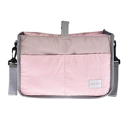 Carrito organizador, bolso para cochecito cochecito funda Organizador con múltiples compartimentos, gran espacio para