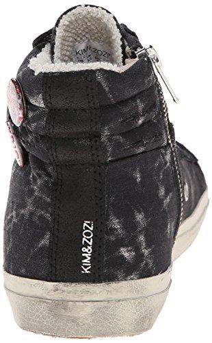 Kim & Zozi Dames Laver Fashion Sneaker Zwart