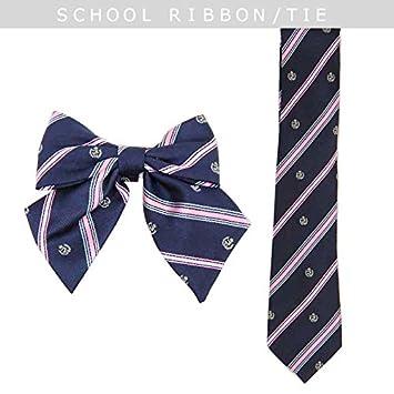 d7ac5f7ead1443 Amazon | 【カラー:-/リボン】≪School costume≫織生地 スクール ...