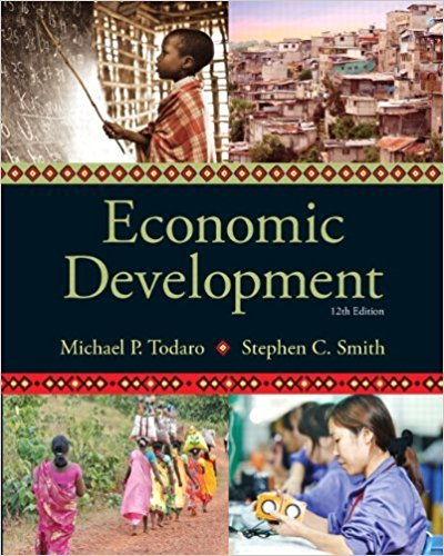 133406784 - Economic Development (12th Edition) (The Pearson Series in Economics)