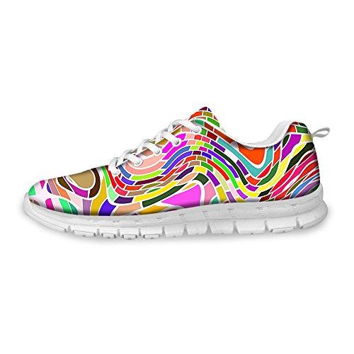 BEACH Cool Shoes 2 Walking Comfortable Lightweight Stylish PZZ Sport Pattern Colorful Fashion Running 6Aq5xd