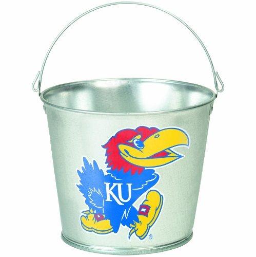 NCAA Kansas Jayhawks 5-Quart Galvanized - Basketball Ncaa Mascots
