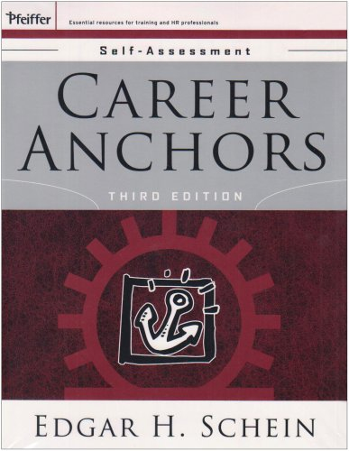 Career Anchors Participants Workbook and Self Set