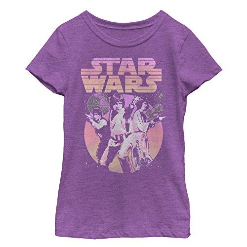 Star Wars Big Girls', Purple Shooter, x-Large