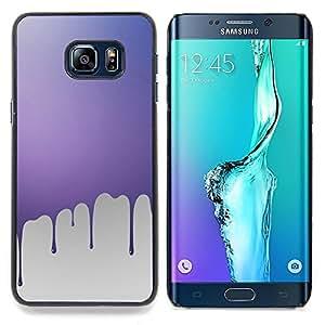 Ihec Tech Goteo de pintura rosa;;;;;;;; / Funda Case back Cover guard / for Samsung Galaxy S6 Edge Plus / S6 Edge+ G928