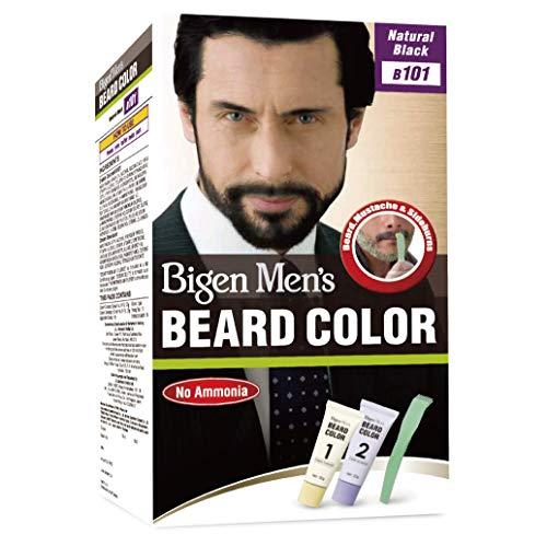 Bigen Mens Beard Colour Natural Black B101 (Bigen Mens Beard Colour Natural Black B101)
