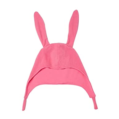 50b114cfffd Image Unavailable. Image not available for. Color  Bob s Burgers Louise  Belcher Bunny Ear Pink Laplander Hat