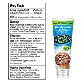 Tanner's Tasty Paste Cha Cha Chocolate - Anticavity Fluoride Children's Toothpaste/Great Tasting, Safe, and Effective Chocolate Flavored Toothpaste for Kids