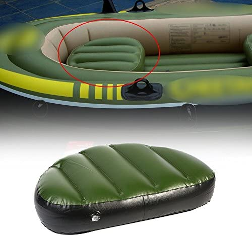 Amazon.com: 2pcs cojín hinchable Asiento Kayak canotaje ...