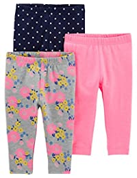 Simple Joys by Carter's baby-girls 3-Pack Leggings Pants