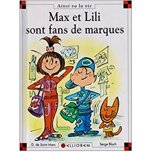 """Afficher """"Max et Lili sont fan de marques"""""""