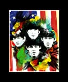 "The Beatles Exclusive Artwork by ""Fantics"" 8x10"
