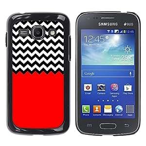 Dragon Case - FOR Samsung Galaxy Ace 3 - The red hand - Caja protectora de pl??stico duro de la cubierta Dise?¡Ào Slim Fit