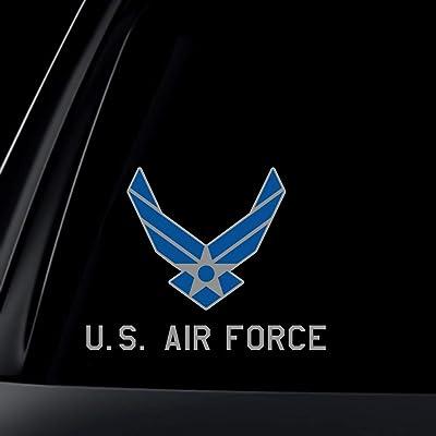 World Design U.S. Air Force Car Decal/Sticker: Automotive