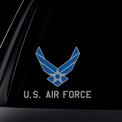 "US Department of Air Force car bumper sticker 2.5/"""