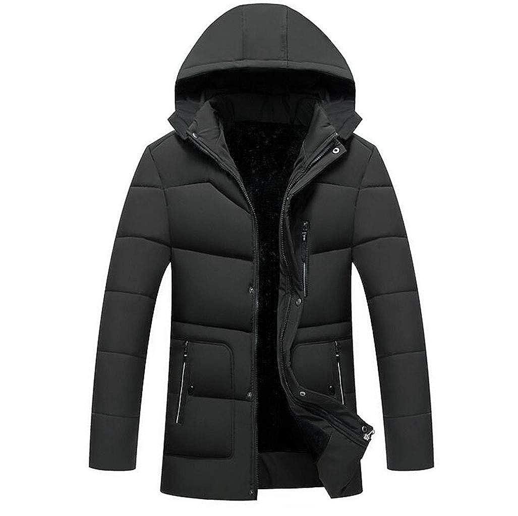 Herren Daunenjacke - Herren Warme Jacke, Leichte Winterjacke Wasserdichte Jacke - Ideal für Kaltes Wetter