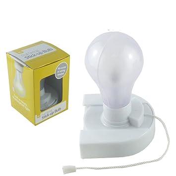 Stick Up Bulb Lampe Mit Zugschnur Befestigung Ohne Bohren