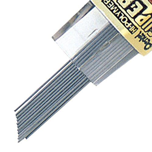 Pentel 0.3mm Super Hi-Polymer Mechanical Lead Pencil, 12 Pieces/Tube, Box of 12 (300-2H) by Pentel (Image #4)