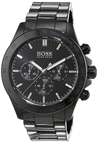 HUGO BOSS Men's Chronograph Quartz Watch with Ceramic Bracelet – 1513197