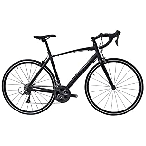 Tommaso Forcella Endurance Aluminum Road Bike, Carbon Fork, Shimano Claris R2000, 24 Speeds, Aero Wheels, Matte Black, Matte White