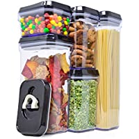 5 Piece Royal Air Tight Food Storage Container Set