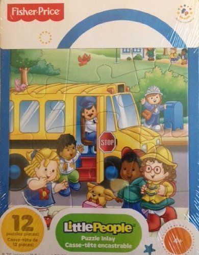 Fisher Price Little People Frame Jigsaw Puzzle 12 Pieces