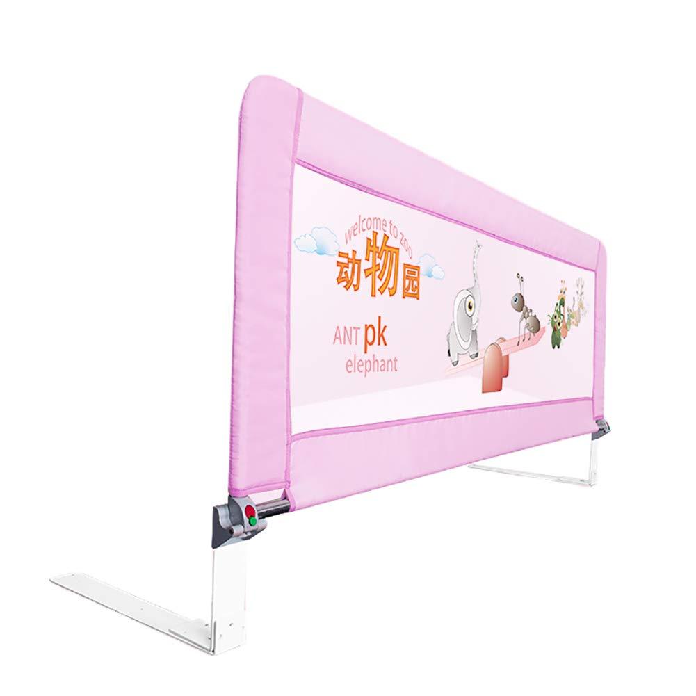 ベッドフェンス- ベビーベッドレール&ガード、子供のための垂直持ち上げベビーベッドレールガール/ボーイロングベッドレール、1.2mのための折り畳み式シングルガードレール   B07JG8P38L