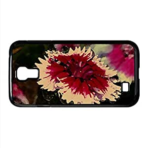 Lens Effect Watercolor style Cover Samsung Galaxy S4 I9500 Case (Flowers Watercolor style Cover Samsung Galaxy S4 I9500 Case)