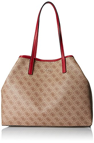 GUESS Vikky Classic Logo Large Tote, Brown ()