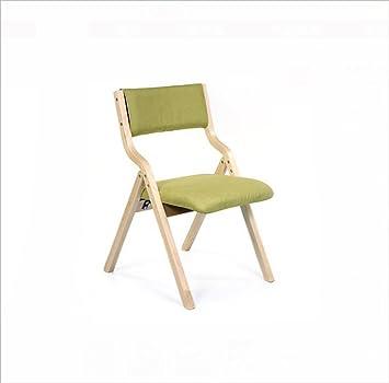 Chair QL sillones Plegables Silla de Cena Plegable casera ...