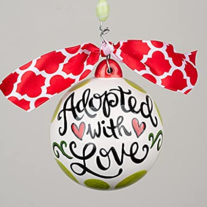 Adoption Ornament With FREE Personalization - Amazon.com: Adoption Ornament With FREE Personalization: Home & Kitchen