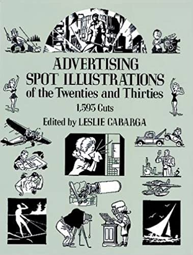 amazon advertising spot illustrations of the twenties and thirties