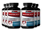 Cayenne garlic - CHOLESTEROL RELIEF - Metabolism booster - 6 Bottles 360 Capsules