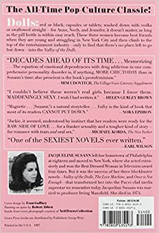 valley of the dolls jacqueline susann 9780802135193
