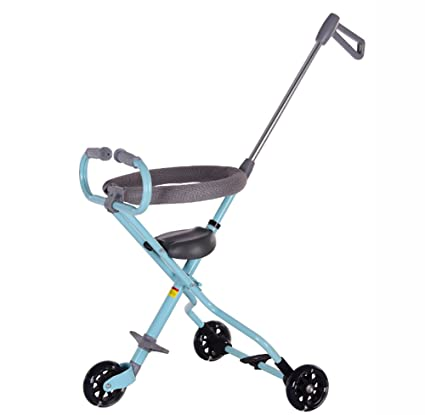 cc1647679fa 3 wheels Baby Stroll Artifact Children Trolley Folding Lightweight Portable  Tricycle Tourism Kids Trike Child 1