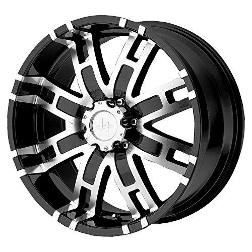 Helo HE835 Gloss Black Machined Wheel - (18x9''/6x5.5'') by Helo