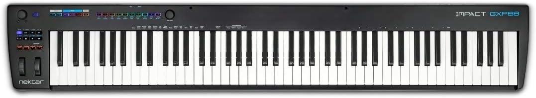 Nektar Impact GXP88 USB MIDI controlador teclado con Nektar DAW integración