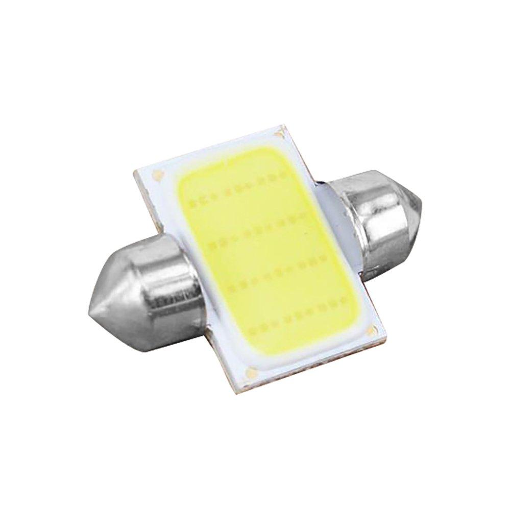 Connoworld Clearance Sale 2Pcs 12V COB LED White Interior Light Lamp Car Caravan Motorhome Reading Lights 31mm by Connoworld (Image #6)