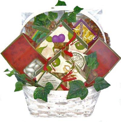Gourmet Nuts Gift Basket | Size Medium