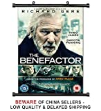 The Benefactor Movie Richard Gere Fabric Wall Scroll Poster (16 x 23) Inches