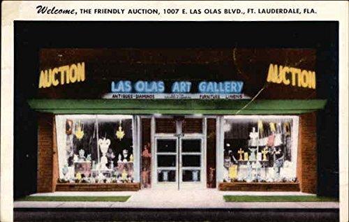 Las Olas Art Gallery Fort Lauderdale, Florida Original Vintage - Lauderdale Olas Las Fort