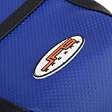 JFG RACING Blue/Black Gripper Soft Motorcycle