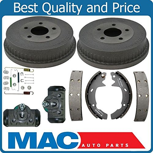(Models With Rear Drums Shoes Spring Kit Wheel Cylinder 01-07 Fits For Ford Taurus Sable)
